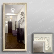Зеркало 5837Ф в багетной раме 140х70 см универсальное с фацетом