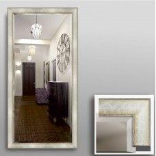 Зеркало 7100Ф в багетной раме 140х70 см универсальное с фацетом