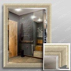 Зеркало 1035Ф в багетной раме 80х60 см универсальное