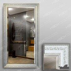 Зеркало 3561Ф в багетной раме 90х50 см с фацетом