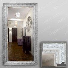 Зеркало 3562Ф в багетной раме 90х50 см с фацетом