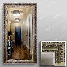 Зеркало 3569Ф в багетной раме 90х50 см с фацетом