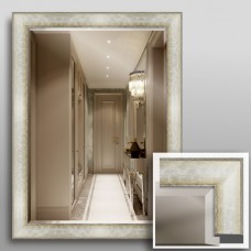 Зеркало 7100Ф в багетной раме 80х60 см универсальное