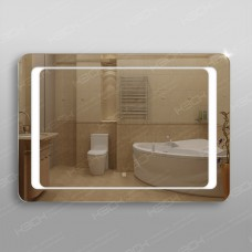 Зеркало 311ск с LED подсветкой 9,6 Вт 70 х 100 см с сенсорным выключателем