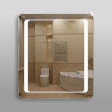 Зеркало 311ск с LED подсветкой 9,6 Вт 90 х 80 см с сенсорным выключателем