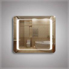 Зеркало 311ско1 с LED подсветкой 4,8 Вт/м 70 х 80 см с сенсорным выключателем и антизапотеванием 25х50 см с закрытой тыльной стороной