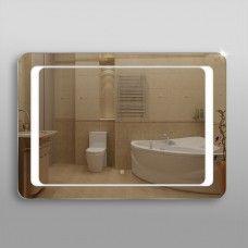 Зеркало 311ско2 с LED подсветкой 4,8 Вт/м 70 х 100 см с сенсорным выключателем и антизапотеванием 50х50 см