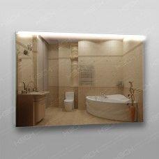 Зеркало 210 с LED подсветкой 9,6 Вт/м 70 x 100 см с кнопочным выключателем