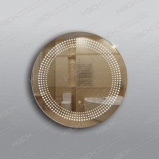 Зеркало 330ск с LED подсветкой 9,6 Вт/м круглое 60 см с сенсорным выключателем