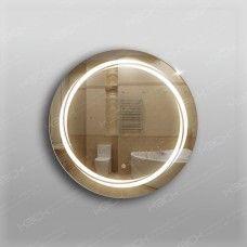 Зеркало 338ск с LED подсветкой 9,6 Вт/м круглое 60 см с сенсорным выключателем