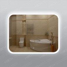 Зеркало 341ск с LED подсветкой 9,6 Вт/м 70 х 90 см с сенсорным выключателем