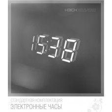 Часы встроенные в зеркало 20х50 мм (ч1)