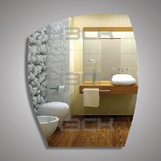 Зеркало  45186 60х50  см