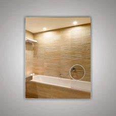 Зеркало  45200 66х53 см с косметической линзой 120 мм