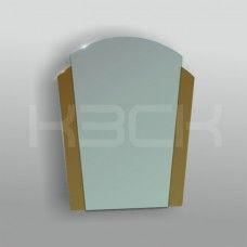 Зеркало 45202 67х51 см с бронзовыми вставками