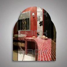 Зеркало  45204 65х52 см с бронзовыми вставками