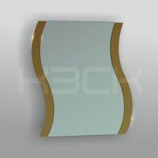 Зеркало 45217 67,5 х 58 см с бронзовыми вставками