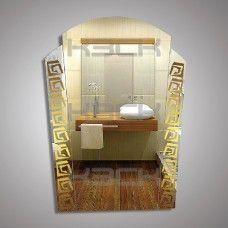 Зеркало 45157 gold 67х51 см с золотыми вставками