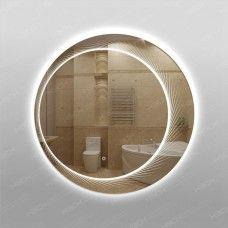 Зеркало 565ск с LED подсветкой 9,6 Вт/м круглое 70 см с сенсорным выключателем