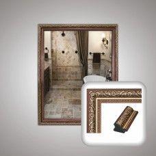 Зеркало 0006 в багетной раме 50х40 см