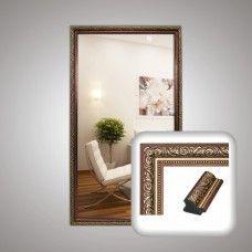 Зеркало 0006 в багетной раме 90х50 см