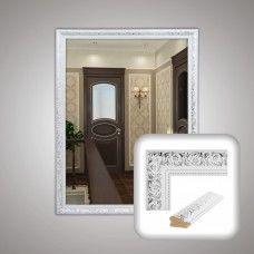 Зеркало 0040 в багетной раме 80х60 см универсальное