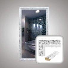 Зеркало 0040 в багетной раме 90х50 см