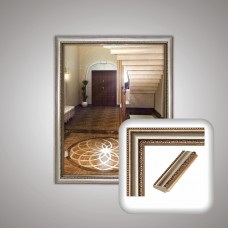 Зеркало 1203 в багетной раме 50х40 см
