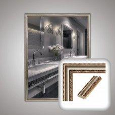 Зеркало 1203 в багетной раме 80х60 см универсальное