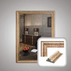 Зеркало 1280 в багетной раме 80х60 см универсальное
