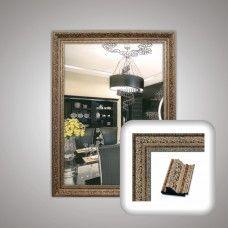 Зеркало 1283 в багетной раме 80х60 см универсальное