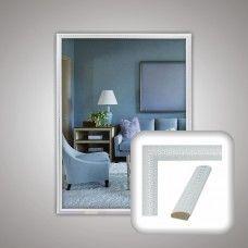 Зеркало 1290 в багетной раме 80х60 см универсальное
