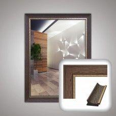 Зеркало 5123 в багетной раме 80х60 см универсальное