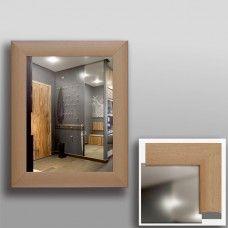 Зеркало 45307 в рамке МДФ 50 х 40 бук