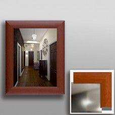 Зеркало 45309 в рамке МДФ 50 х 40 вишня