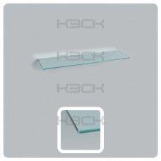 стекло - полка  50 см прозрачная толщина 5 мм