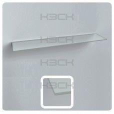 стекло - полка  60 см матовая толщина 5 мм