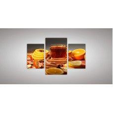 Картина модульная 10 из трех частей 820 х 1300 ( 55 х 38 - 2шт  82 х 48 - 1 шт) из стекла 6 мм без креплений.