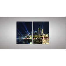Картина модульная 13 из двух частей 1100 х 1600 ( 110 х 77 - 2шт) из стекла 6 мм без креплений.