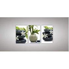Картина модульная 15 из трех частей 1100 х 2300 ( 110 х 70 - 3шт) из стекла 6 мм без креплений.