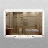 Зеркало 555ск с LED подсветкой 9,6 Вт/м 70 х 100 см с сенсорным выключателем