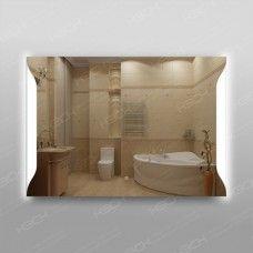 Зеркало 317ск с LED подсветкой 9,6 Вт 70 х 100 см с сенсорным выключателем