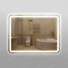 Зеркало CL348ск с LED подсветкой 9,6 Вт/м 60 х 80 см с сенсорным выключателем