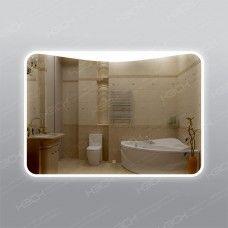 Зеркало 552ск с LED подсветкой 9,6 Вт/м 70 х 100 см с сенсорным выключателем