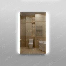 Зеркало 316ск с LED подсветкой 9,6 Вт/м 80 х 60 см с сенсорным выключателем