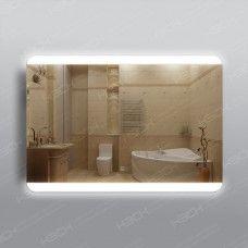Зеркало 315ск2о1  70 х 100 см с двойным сенсорным выключателем,с антизапотеванием 25х50см