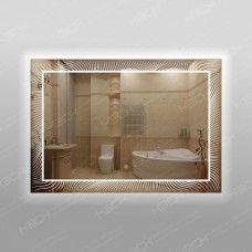 Зеркало 563ск с LED подсветкой 9,6 Вт/м 70 х 100 см с сенсорным выключателем
