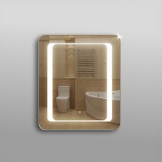Зеркало 311ск с LED подсветкой 9,6 Вт/м 80 х 60см с сенсорным выключателем