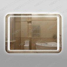 Зеркало 314ск с LED подсветкой 9,6 Вт 70 х 100 см с сенсорным выключателем универсальное крепление