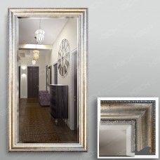 Зеркало 4441Ф в багетной раме 90х50 см с фацетом